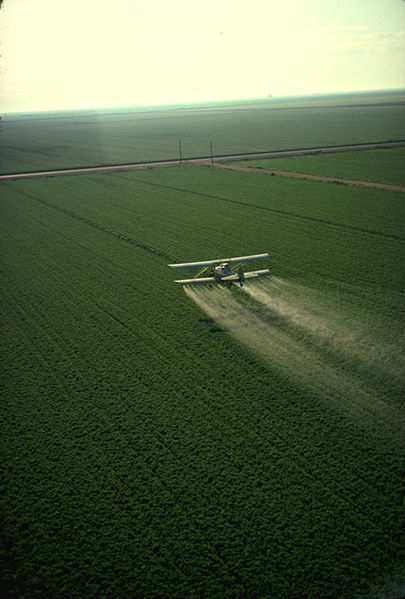 Pestizide per Flugzeug